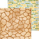 BoBunny - Safari Collection - 12 x 12 Double Sided Paper - Spots