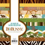 BoBunny - Safari Collection - 6 x 6 Paper Pad