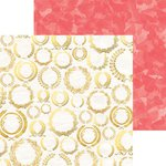 Bo Bunny - Sweet Life Collection - 12 x 12 Double Sided Paper - Laurels
