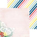 BoBunny - Sweet Life Collection - 12 x 12 Double Sided Paper - Wish