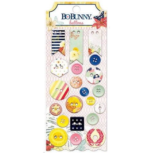 BoBunny - Sweet Life Collection - Buttons