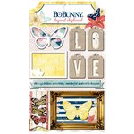 BoBunny - Sweet Life Collection - Layered Chipboard Stickers