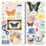 Bo Bunny - Sweet Life Collection - Chipboard Stickers