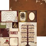 BoBunny - Heritage Collection - 12 x 12 Double Sided Paper - Roots