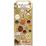 Bo Bunny - Heritage Collection - Buttons