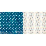 BoBunny - Boardwalk Collection - 12 x 12 Double Sided Paper - Sail Away