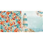 BoBunny - Boardwalk Collection - 12 x 12 Double Sided Paper - Summer Fun