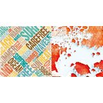 BoBunny - Boardwalk Collection - 12 x 12 Double Sided Paper - Sunshine