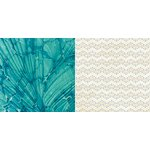 BoBunny - Boardwalk Collection - 12 x 12 Double Sided Paper - Waves