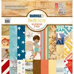 BoBunny - Boardwalk Collection -12 x 12 Collection Pack