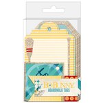 BoBunny - Boardwalk Collection - Tags