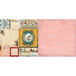 Bo Bunny - Juliet Collection - 12 x 12 Double Sided Paper - Nostalgia
