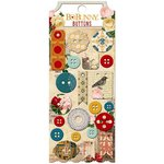 BoBunny - Juliet Collection - Buttons