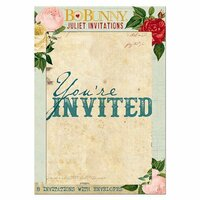 BoBunny - Juliet Collection - Invitations
