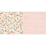 BoBunny - Youre Invited Collection - 12 x 12 Double Sided Paper - Jubilee