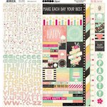 BoBunny - Youre Invited Collection - 12 x 12 Cardstock Stickers - Combo Sticker