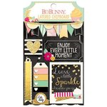 Bo Bunny - Youre Invited Collection - Layered Chipboard Stickers