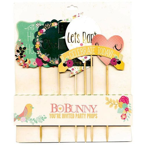 BoBunny - You're Invited Collection - Party Props