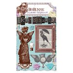 BoBunny - Penny Emporium Collection - Layered Chipboard Stickers
