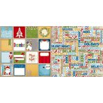 Bo Bunny - Dear Santa Collection - Christmas - 12 x 12 Double Sided Paper - Dear Santa