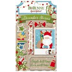 Bo Bunny - Dear Santa Collection - Christmas - Layered Chipboard Stickers