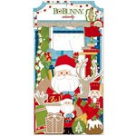 BoBunny - Dear Santa Collection - Christmas - Noteworthy Journaling Cards