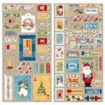 BoBunny - Dear Santa Collection - Christmas - Chipboard Stickers