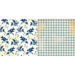 BoBunny - Genevieve Collection - 12 x 12 Double Sided Paper - Birds