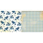 Bo Bunny - Genevieve Collection - 12 x 12 Double Sided Paper - Birds