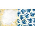 Bo Bunny - Genevieve Collection - 12 x 12 Double Sided Paper - Lavish