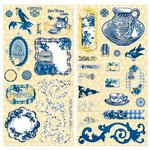 BoBunny - Genevieve Collection - Chipboard Stickers