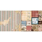 Bo Bunny - Provence Collection - 12 x 12 Double Sided Paper - Aroma