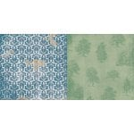 BoBunny - Provence Collection - 12 x 12 Double Sided Paper - Breathtaking