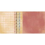 BoBunny - Provence Collection - 12 x 12 Double Sided Paper - Harlequin