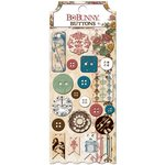 Bo Bunny - Provence Collection - Buttons