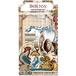 BoBunny - Provence Collection - Noteworthy Journaling Cards
