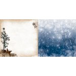 Bo Bunny - Sleigh Ride Collection - Christmas - 12 x 12 Double Sided Paper - Sleigh Ride