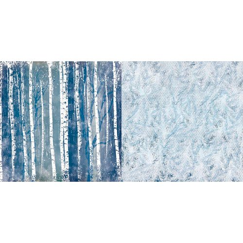 BoBunny - Sleigh Ride Collection - Christmas - 12 x 12 Double Sided Paper - Aspen