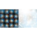Bo Bunny - Sleigh Ride Collection - Christmas - 12 x 12 Double Sided Paper - Flurries