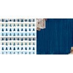 Bo Bunny - Sleigh Ride Collection - Christmas - 12 x 12 Double Sided Paper - Tranquil