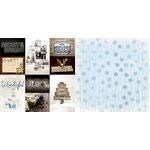 BoBunny - Sleigh Ride Collection - Christmas - 12 x 12 Double Sided Paper - Wonderful