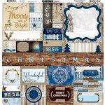 Bo Bunny - Sleigh Ride Collection - Christmas - 12 x 12 Cardstock Stickers - Combo