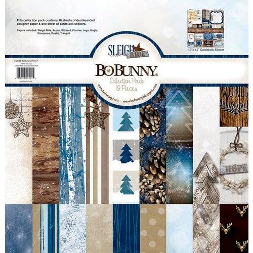 Bo Bunny - Sleigh Ride Collection - Christmas - 12 x 12 Collection Pack