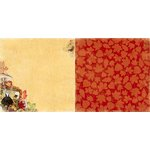 Bo Bunny - Enchanted Harvest Collection - 12 x 12 Double Sided Paper - Enchanted Harvest