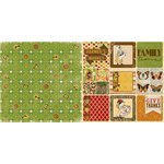 BoBunny - Enchanted Harvest Collection - 12 x 12 Double Sided Paper - Autumn