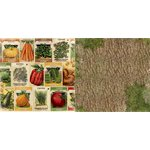 BoBunny - Enchanted Harvest Collection - 12 x 12 Double Sided Paper - Seed Packets