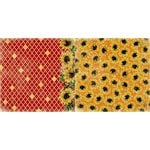 Bo Bunny - Enchanted Harvest Collection - 12 x 12 Double Sided Paper - Sunflowers
