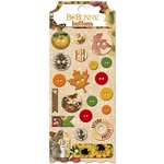 Bo Bunny - Enchanted Harvest Collection - Buttons