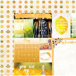 Bo Bunny - Calendar Girl Collection - 12 x 12 Double Sided Paper - May
