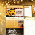 BoBunny - Calendar Girl Collection - 12 x 12 Double Sided Paper - November
